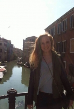 Emma Smith in Venice