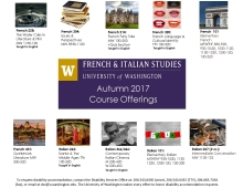 UW French & Italian Studies Autumn Course