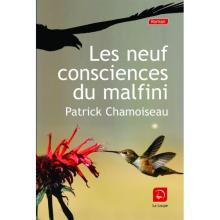 Cover of Patrick Chamoiseau's novel, Les neuf consciences du malfini
