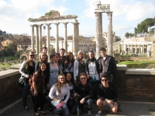 Italian Studies in Rome - group photo