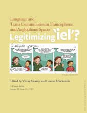 Language and Trans Communities in Francophone and Anglophone Spaces