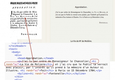 French text encoding