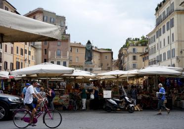 Market in Rome