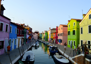 The Island of Color (Burano,Italy) by Mackenzie Altig (1st Place Winner - 2013 FIS Photo Contest)