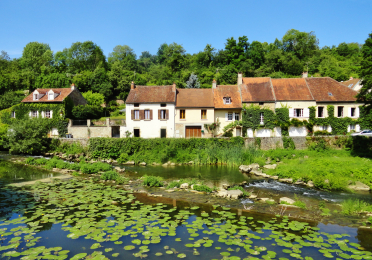 French Lilypads (Semur-en-Auxois, France) by Lauren Moses  (2nd Place Winner - 2013 FIS Photo Contest)