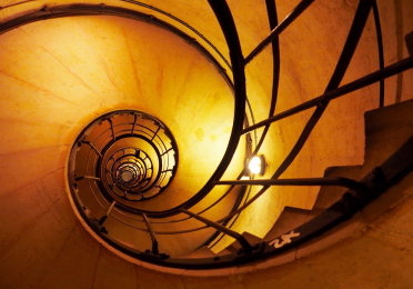 Stairwell of Arc de Triomphe