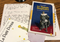 French Books and paper