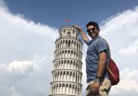 Ian Platou in Pisa