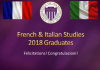 French & Italian Studies Graduation 2018