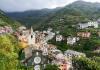 hills above Cinque terre