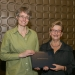 Louisa Mackenzie with Marianne Hirsch, Vice President of the MLA (photograph courtesy of David Fox)