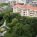 Aerial view of Newberry library in Chicago